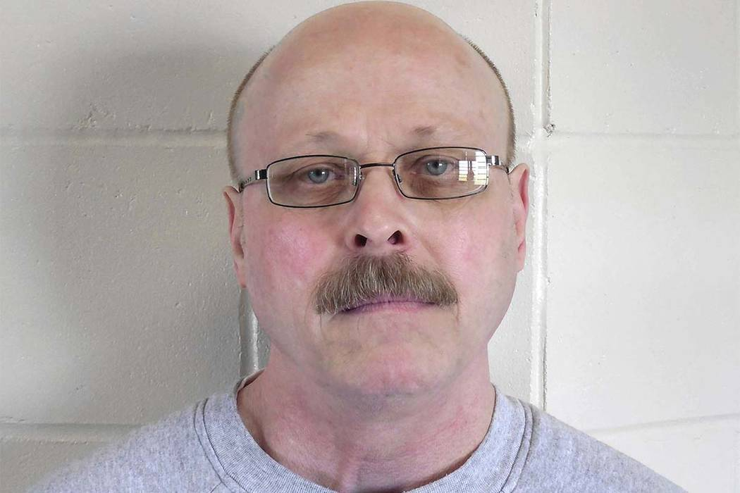This file photo provided by the Nebraska Department of Correctional Services shows death-row inmate Carey Dean Moore. Nebraska prison officials are preparing to execute Moore on Tuesday, Aug. 14, ...