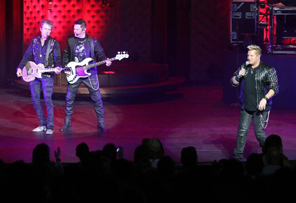 In October 2017, Rascal Flatts kicked off an eight-show run at the Venetian Theater. (Courtesy)
