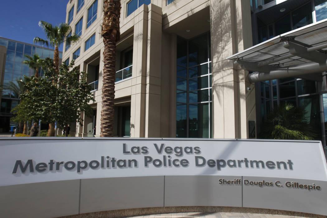 The Las Vegas Metropolitan Police Department headquarters, 400 S. Martin Luther King Blvd. in Las Vegas, is seen on Tuesday, Aug. 26, 2014. (Erik Verduzco/Las Vegas Review-Journal)