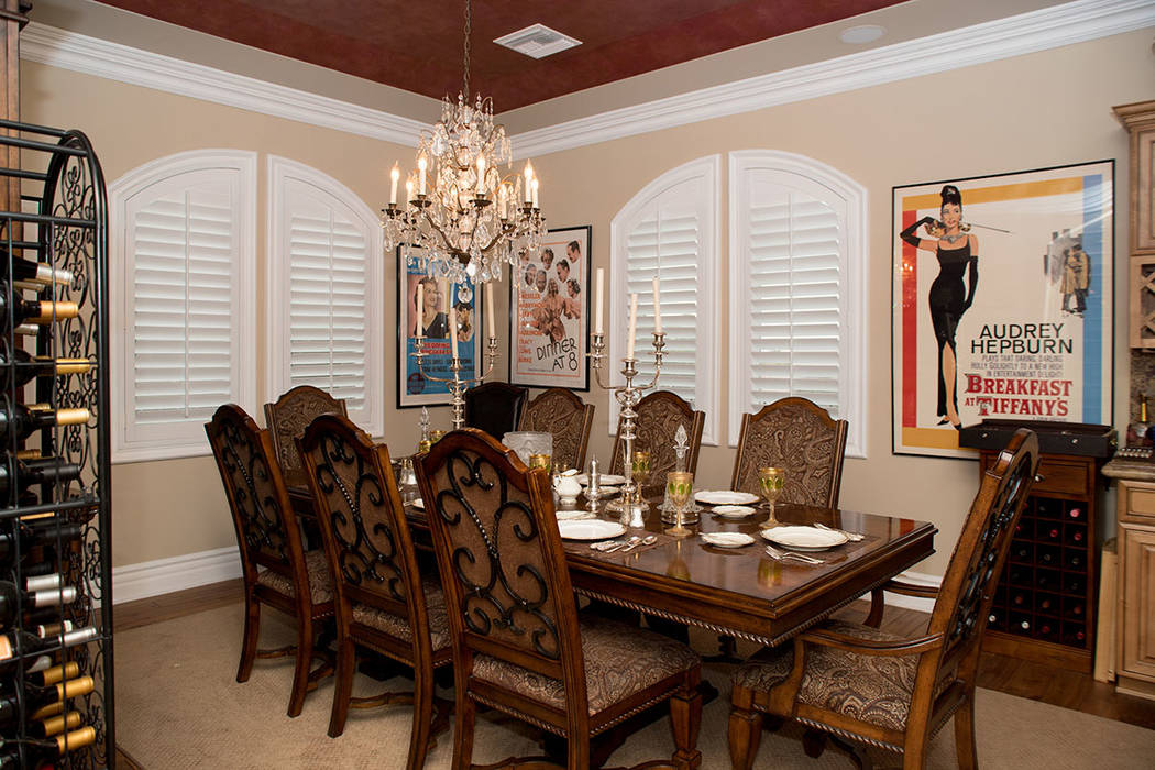 The dining room. (Tonya Harvey Real Estate Millions)