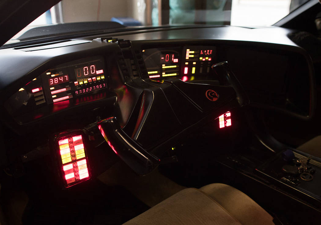 "Catherine Hickland purchased KITT, the talking car from ""Knight Rider."" (Tonya Harvey Real Estate Millions)"