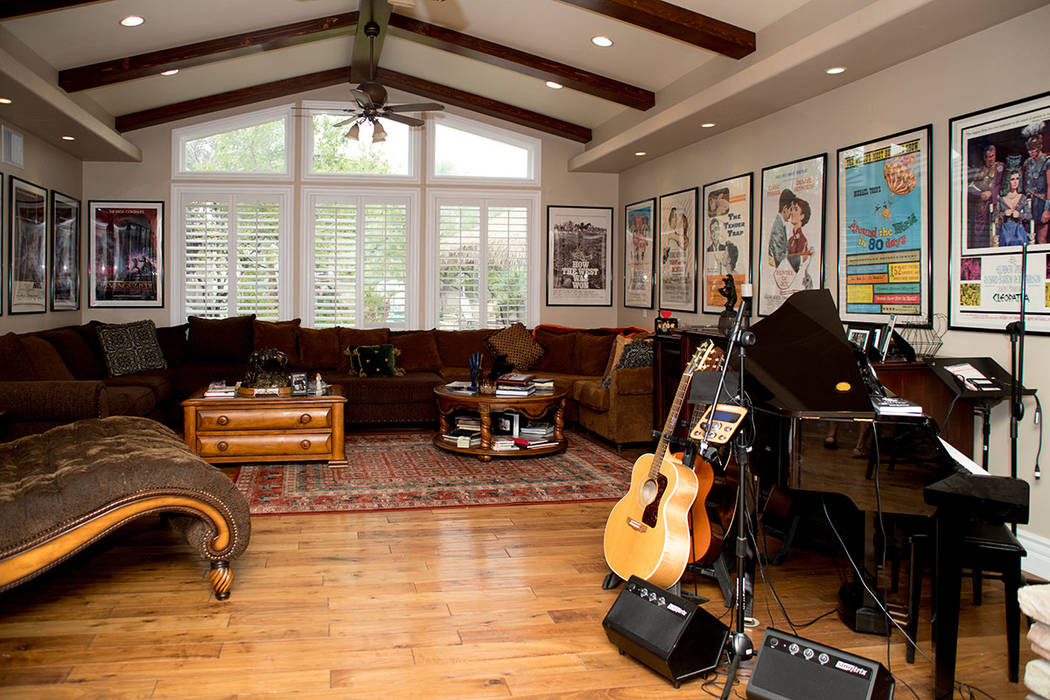Todd Fisher has a lot of artifacts from his life with his mother Debbie Reynolds and sister, Carrie Fisher. (Tonya Harvey Real Estate Millions)
