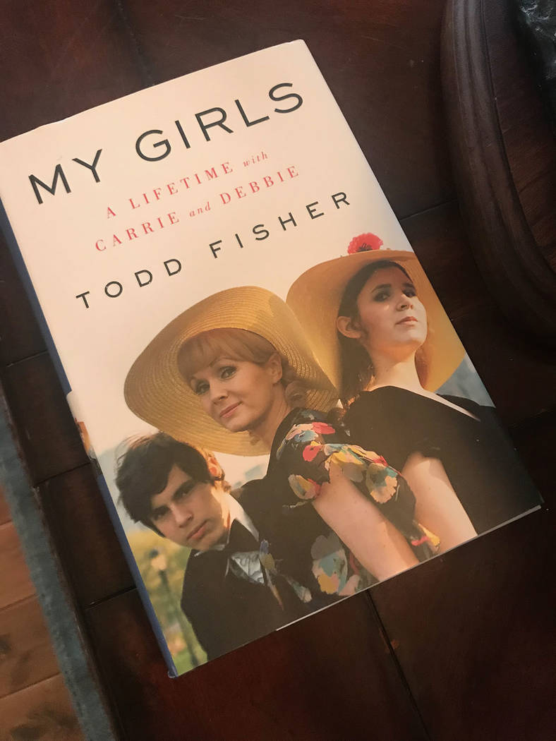 """Debbie Reynold's son, Todd Fisher, published a memoir, """"My Girls: A Lifetime with Carrie and Debbie."""" Tonya Harvey Real Estate Millions"""