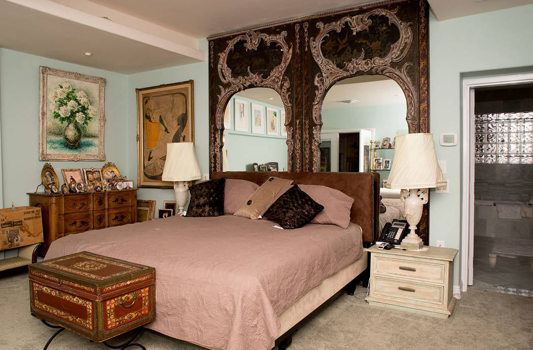 This was Debbie Reynold's bedroom in her son's southwest Las Vegas home. (Tonya Harvey Real Estate Millions)