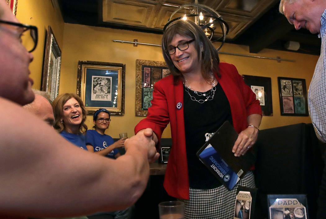 Vermont nominates 1st US transgender gubernatorial candidate