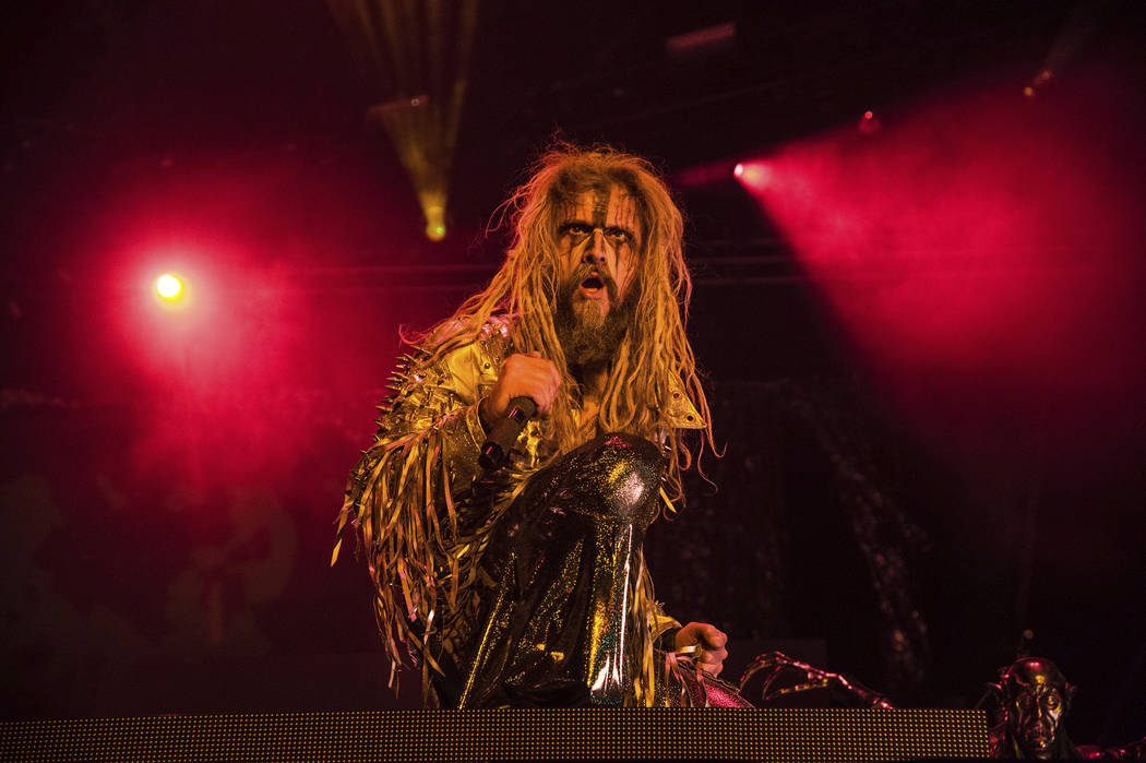 Rob Zombie performs at the Louder Than Life Music Festival at Champions Park on Saturday, Sept. 30, 2017, in Louisville, Ky. (Photo by Amy Harris/Invision/AP)