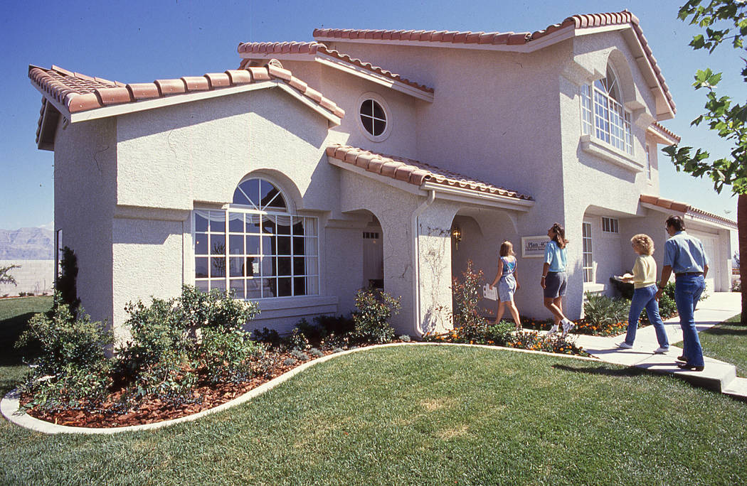 In 1990 the homes were priced from the $90,000s to about $160,000. (Pardee Homes)