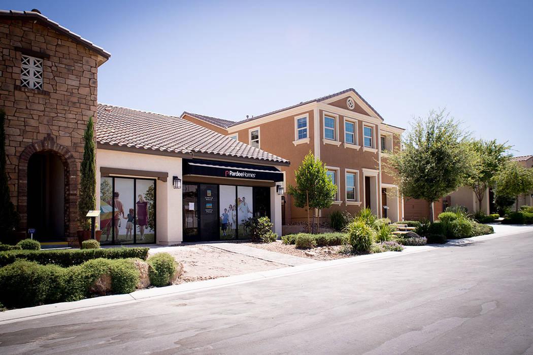 After three decades, Pardee has built just under 5,000 single-family homes on the 1,080-acre site where Eldorado lies in North Las Vegas. (Tonya Harvey RJNewHomes.Vegas)