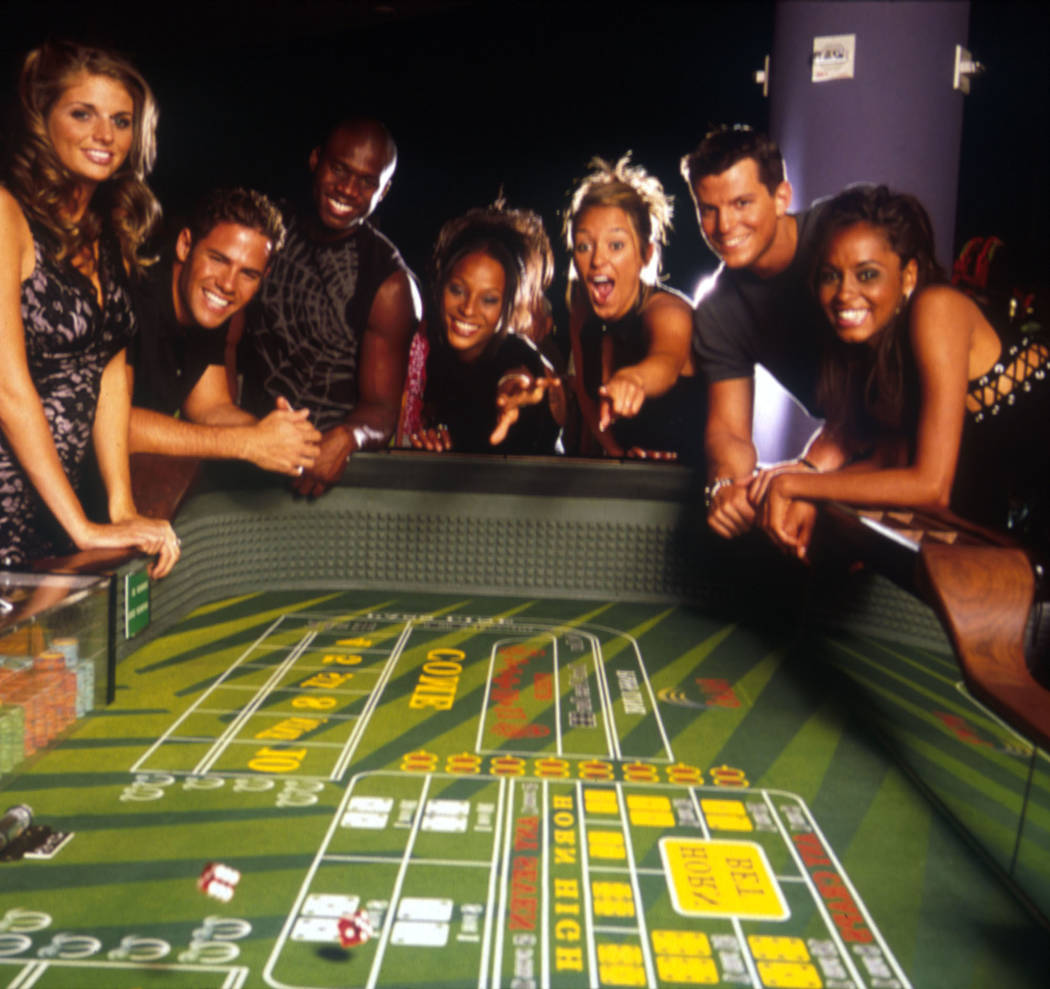 "The cast of MTV's ""The Real World"" pose at The Palms hotel-casino in Las Vegas, in this undated publicity photo. (AP Photo/Rudy Archuletta)"