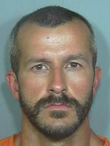 This booking photo from the Weld County Sheriff's Office shows Chris Watts. Authorities say Watts, the husband of a missing family in Colorado has been arrested in connection with the case. Watt' ...