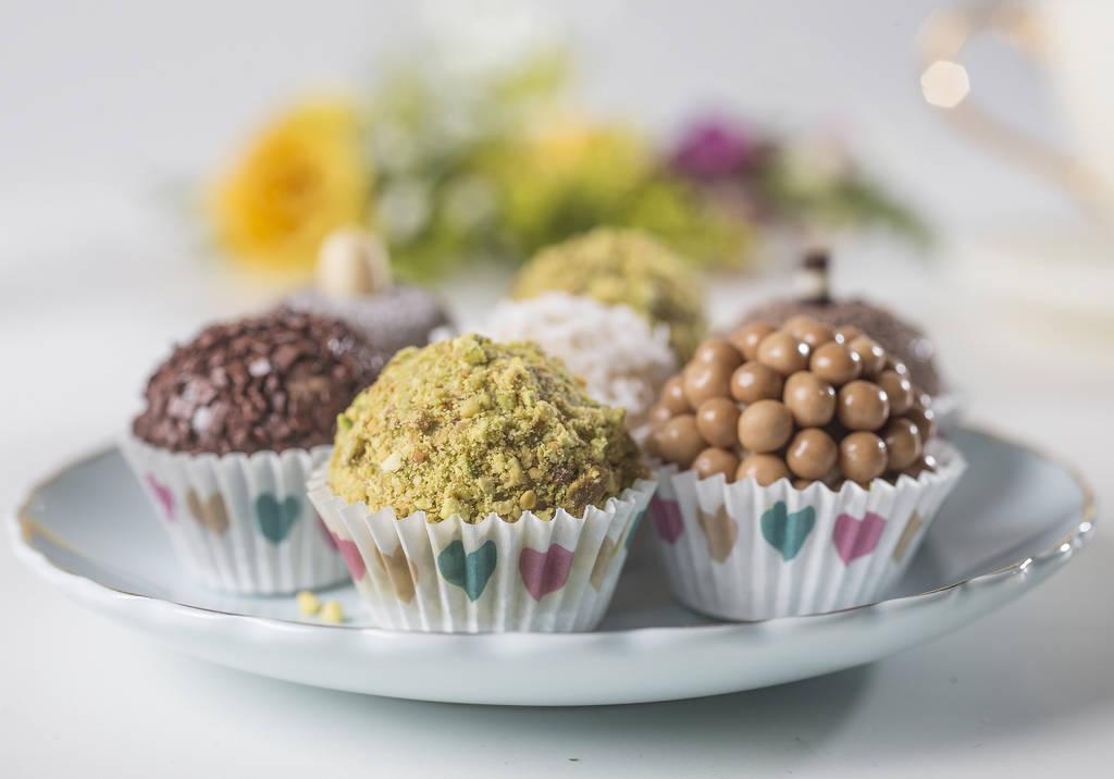 Brazilian desserts from Brigadeiros Patricia Swolensky on Monday, June 11, 2018, in Las Vegas. Benjamin Hager Las Vegas Review-Journal @benjaminhphoto