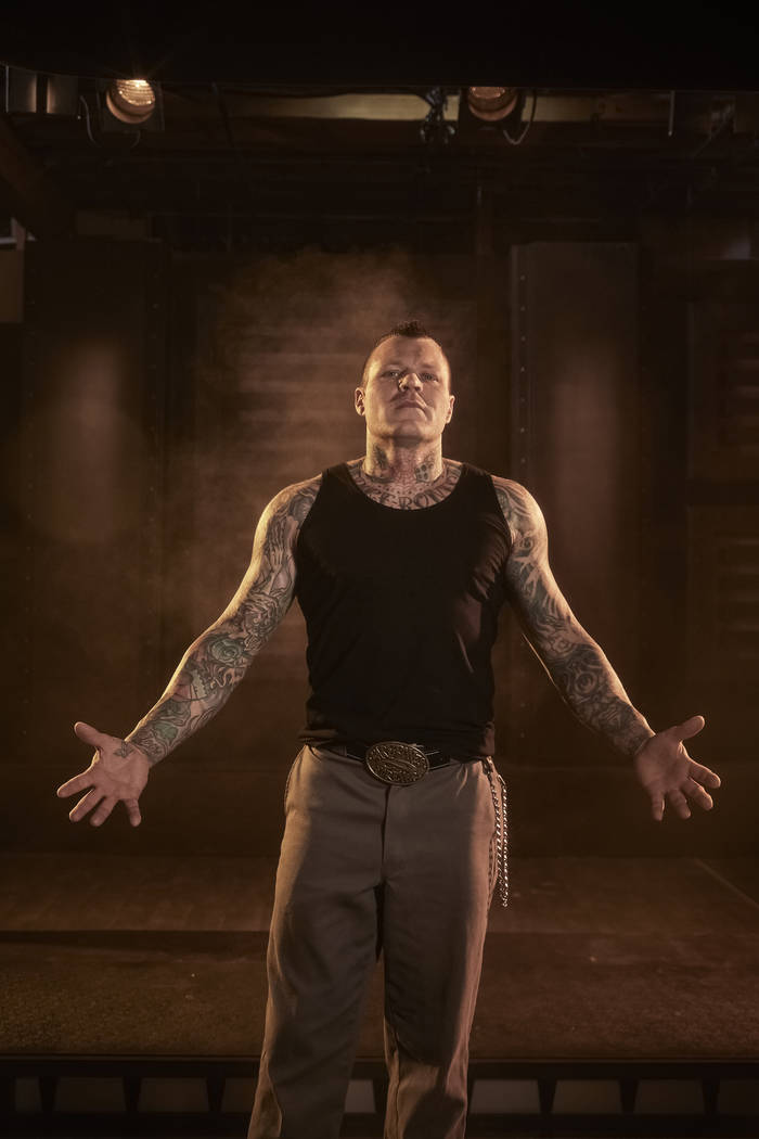 "Las Vegas tattoo artist Cleen Rock One is one of two coaches competing for $100,000 on the new season of ""Ink Master."" (Jared Ryder/Paramount Network)"