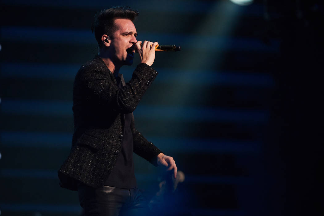 Panic! At the Disco is golden in return to Las Vegas