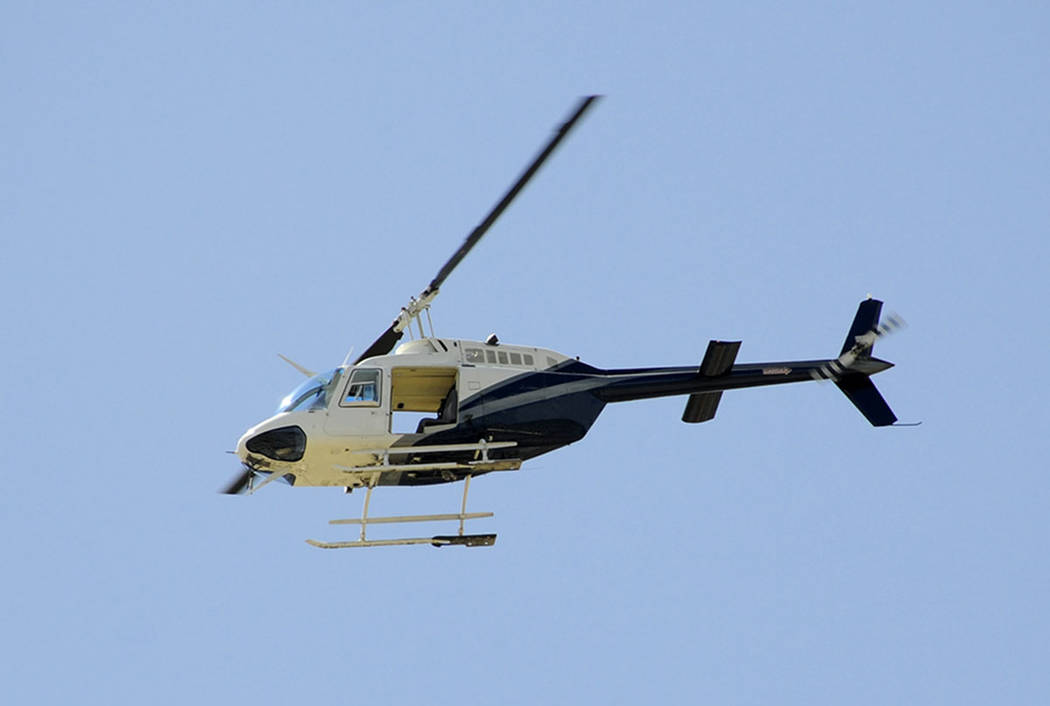 A Bell B206 helicopter (Thinkstock)