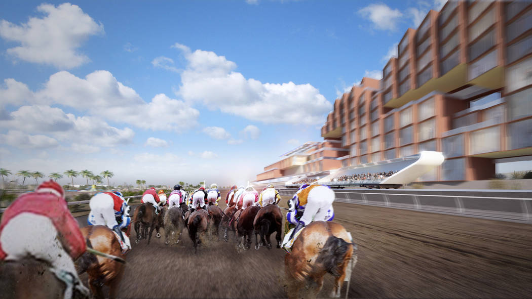 Las Vegas-based Full House Resorts is slated to build a multi-million dollar race track in New Mexico with a moving grandstand, allowing spectators to move along a track at the speed of the horses ...