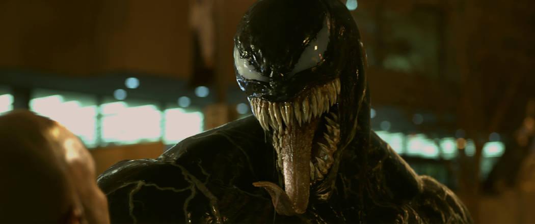 "Tom Hardy stars in ""Venom"" (Sony Pictures)"