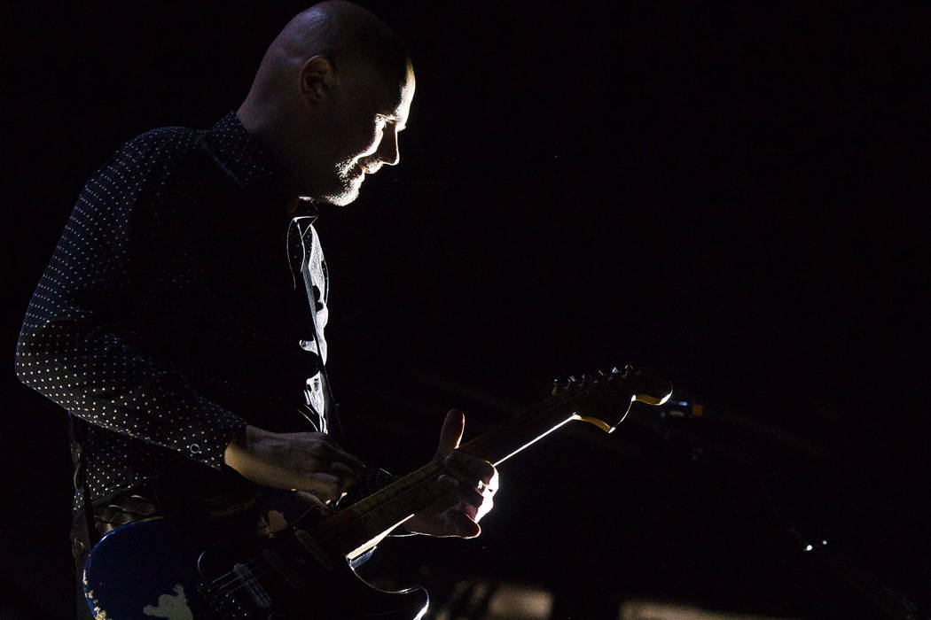 Billy Corgan from The Smashing Pumpkins performs at the Nikon at Jones Beach Theater on Friday, July 31, 2015, in Wantagh, N.Y. (Photo by Charles Sykes/Invision/AP)