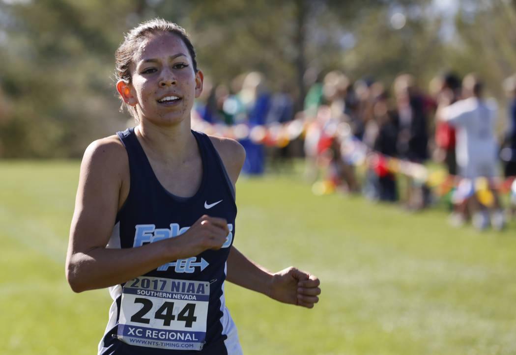 Myna Buckley of Foothill won last year's Sunrise Region meet. Chitose Suzuki/Las Vegas Review-Journal @chitosephoto
