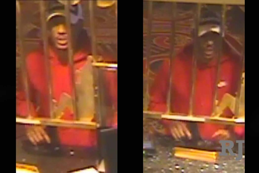 Las Vegas police are looking for a suspect in the robbery of a casino cage at Circus Circus, Wednesday, Aug. 22, 2018. (Las Vegas Metropolitan Police Department)