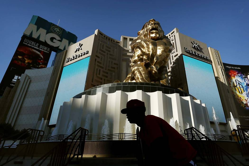MGM Grand in Las Vegas. (John Locher/AP, File)