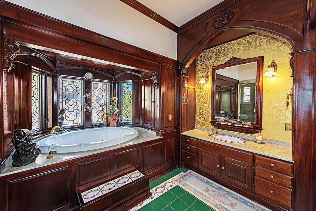 The master bath. (Rob Jensen Co.)