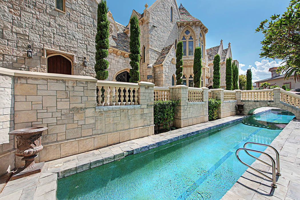 "The ""moat"" or the lap pool. (Rob Jensen Co.)"