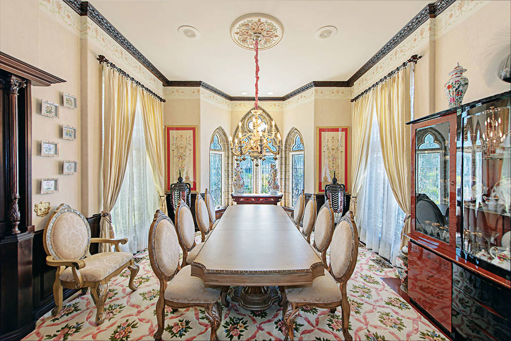 The formal dining room. (Rob Jensen Co.)