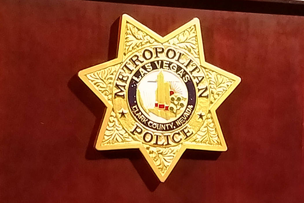 Las Vegas Metropolitan Police (Mike Shoro/Las Vegas Review-Journal)