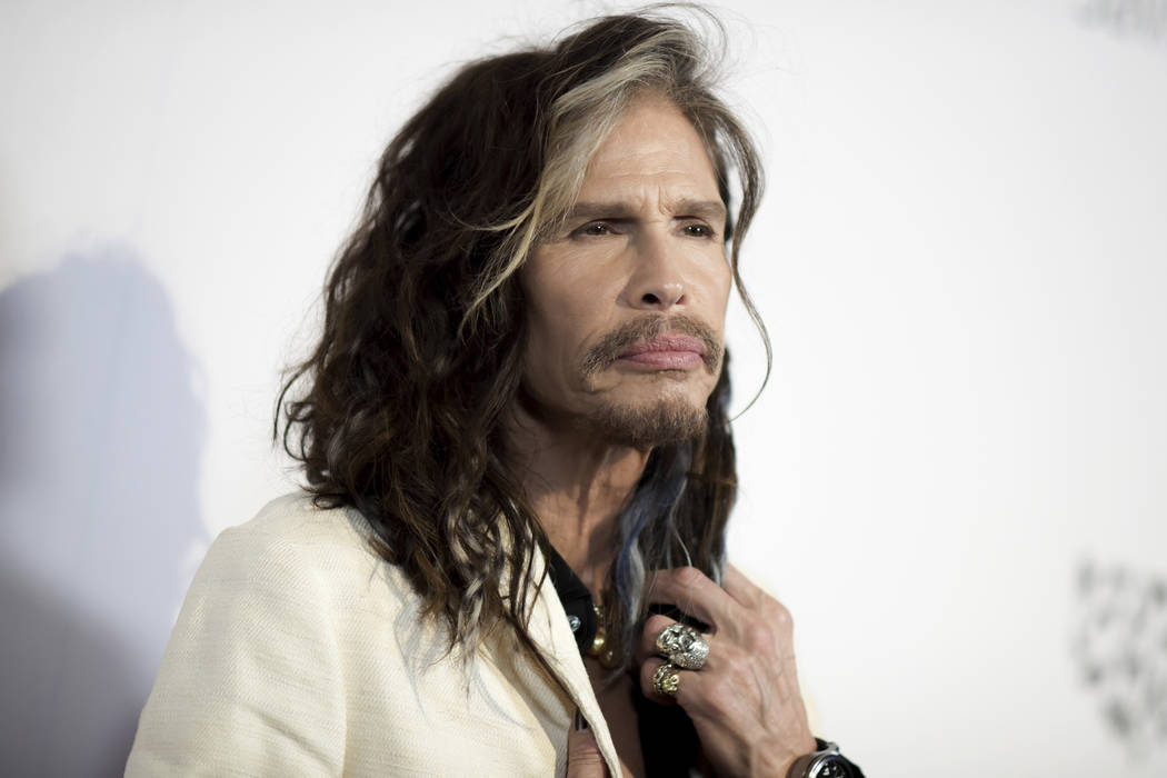 "Steven Tyler attends ""To the Rescue: Saving Animal Lives"" Gala and Fundraiser held at Paramount Pictures Studio in Los Angeles on May 7, 2016. (Photo by Richard Shotwell/Invision/AP, File)"