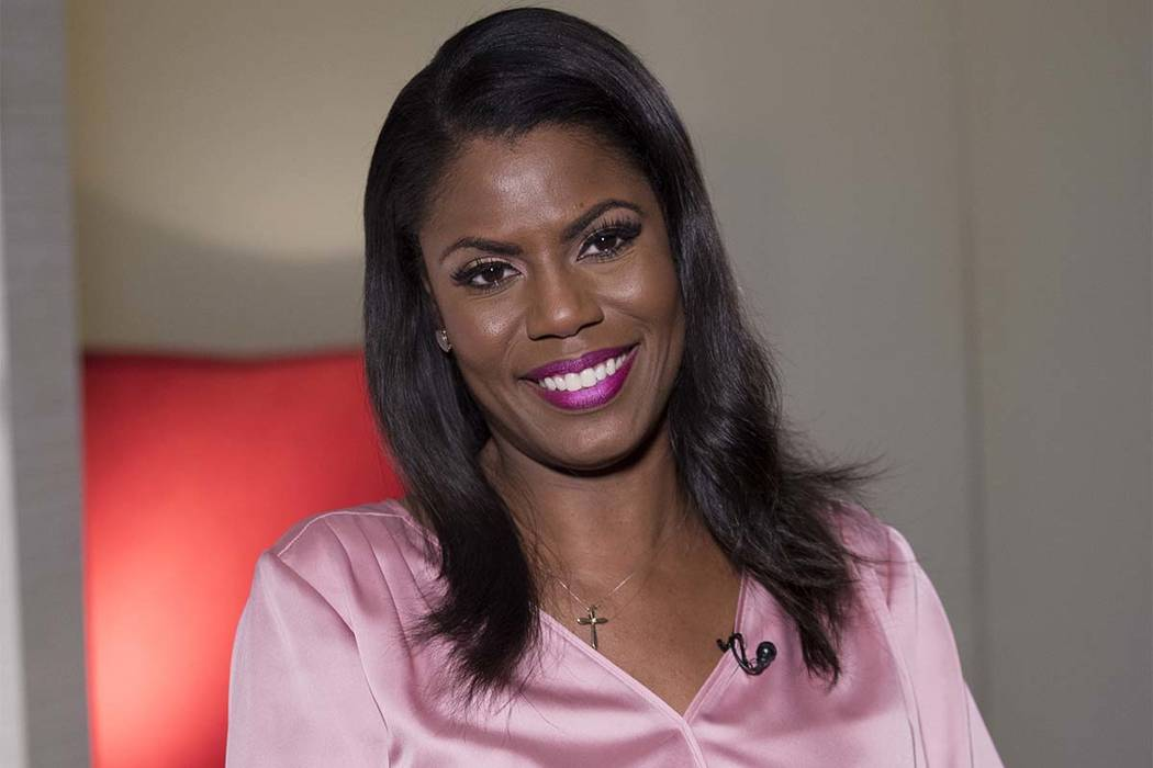 In this Aug. 14, 2018 photo, former White House staffer Omarosa Manigault Newman smiles during an interview in New York. (Mary Altaffer/AP)