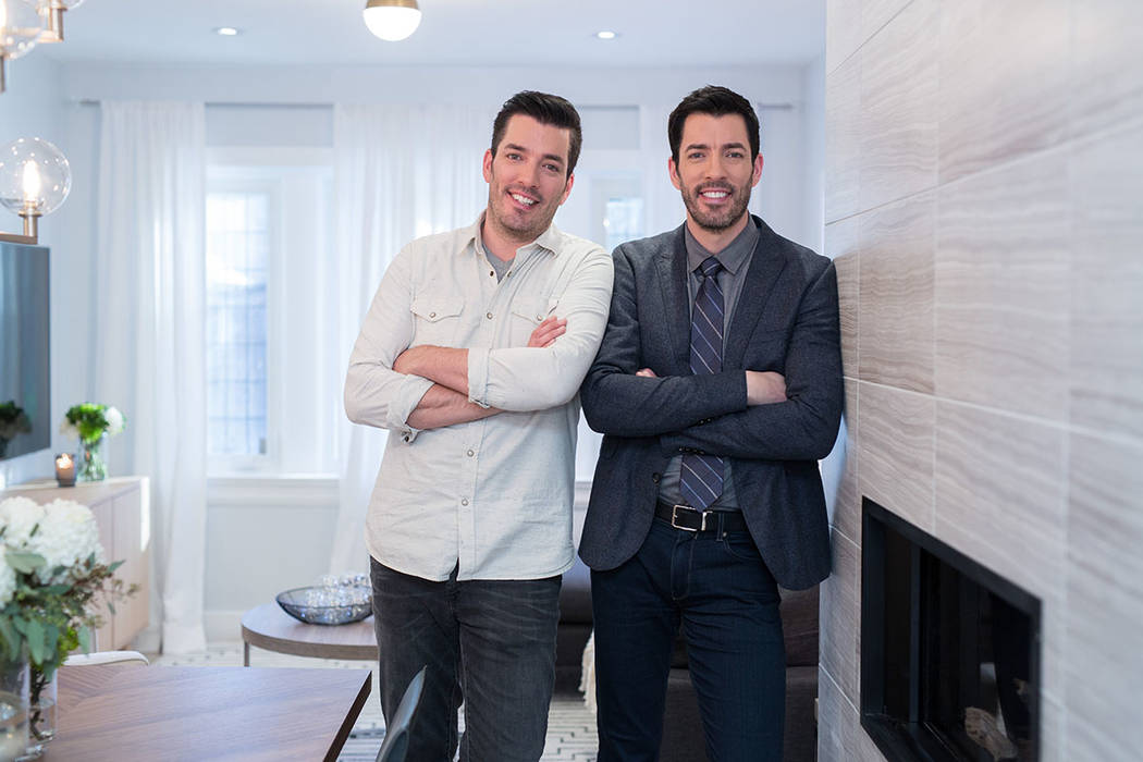 "Drew and Jonathan Scott of HGTV' ""The Property Brothers"" will start filming its new season in Las Vegas in January. (Darren Goldstein/DSG Photo)"