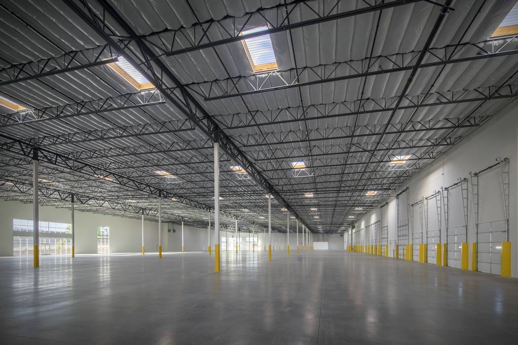 Developer Matter Real Estate Group sold a North Las Vegas warehouse at 4325 Corporate Center Drive, seen above, for about $16.2 million. (J. Walcher Communications)
