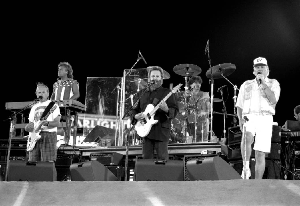 Beach Boys perform at Cashman Field Center