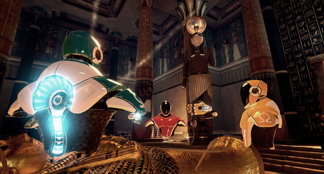 Madam Tussauds at The Venetian's Grand Canal Shoppes is adding a virtual reality attraction where players can play in settings including Ancient Egypt, the Medieval Ages, the moon and under the oc ...