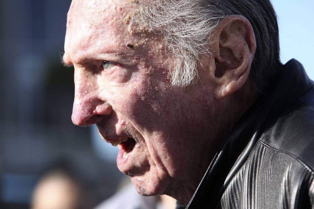 Oakland Raiders owner Al Davis walks into the stadium before the Raiders' NFL football game against the Miami Dolphins in Oakland, Calif., Sunday, Nov. 28, 2010. (Scot Tucker/AP)