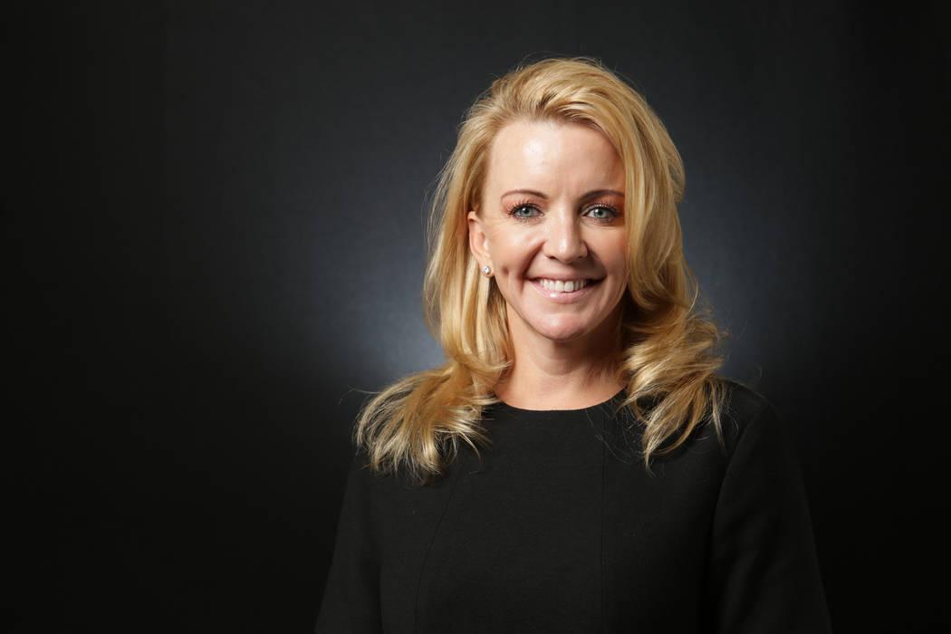 Tisha Black, Republican candidate for Clark County Commission District F. (Michael Quine/Las Vegas Review-Journal) @Vegas88s