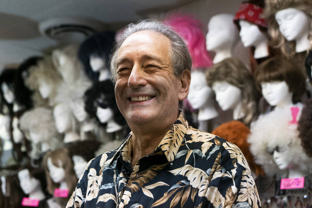 Martin Sadowitz, owner of American Costumes, photographed during an interview in Las Vegas, Tuesday, Aug. 28, 2018. After 40 years of business, American Costumes will close. (Marcus Villagran/Las ...