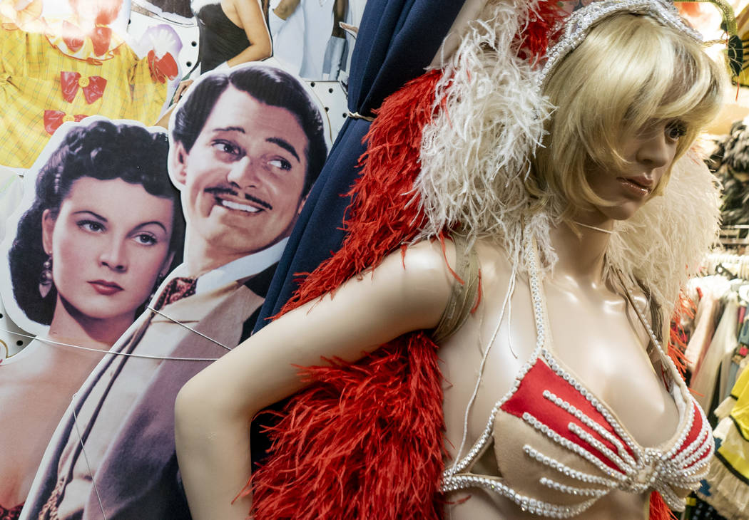 Jennifer, a mannequin at American Costumes, photographed in Las Vegas, Tuesday, Aug. 28, 2018. All the the mannequins in the store have been given names. (Marcus Villagran/Las Vegas Review-Journa ...