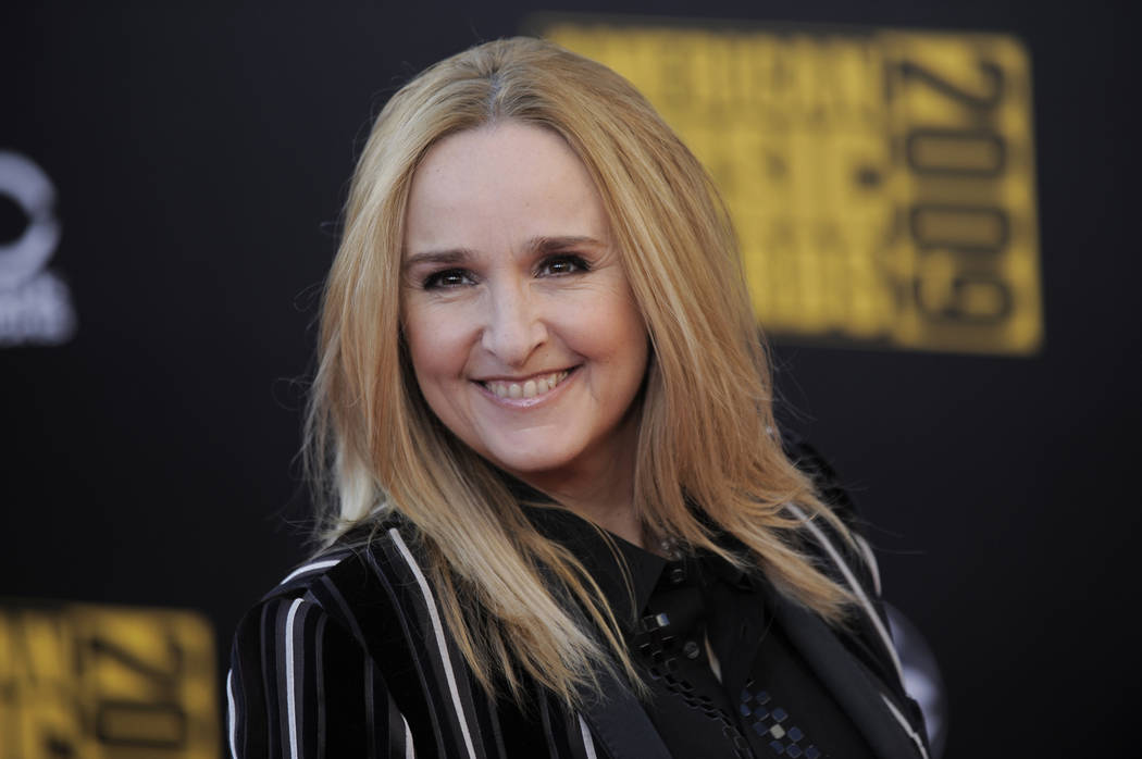 Melissa Etheridge arrives at the 37th Annual American Music Awards on Sunday, Nov. 22, 2009, in Los Angeles. (AP Photo/Chris Pizzello)