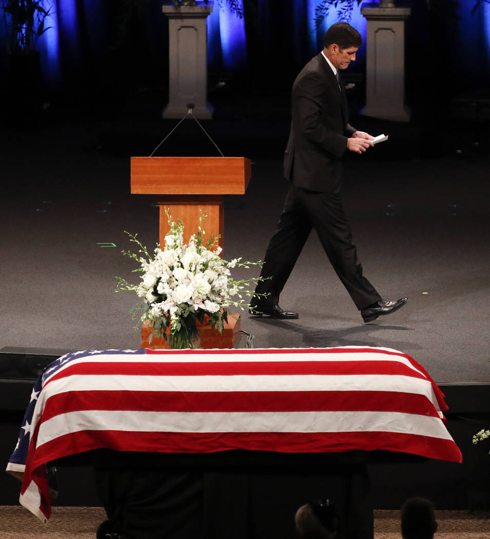 Andrew Mccain: John McCain Remembered As 'true American Hero' In Arizona