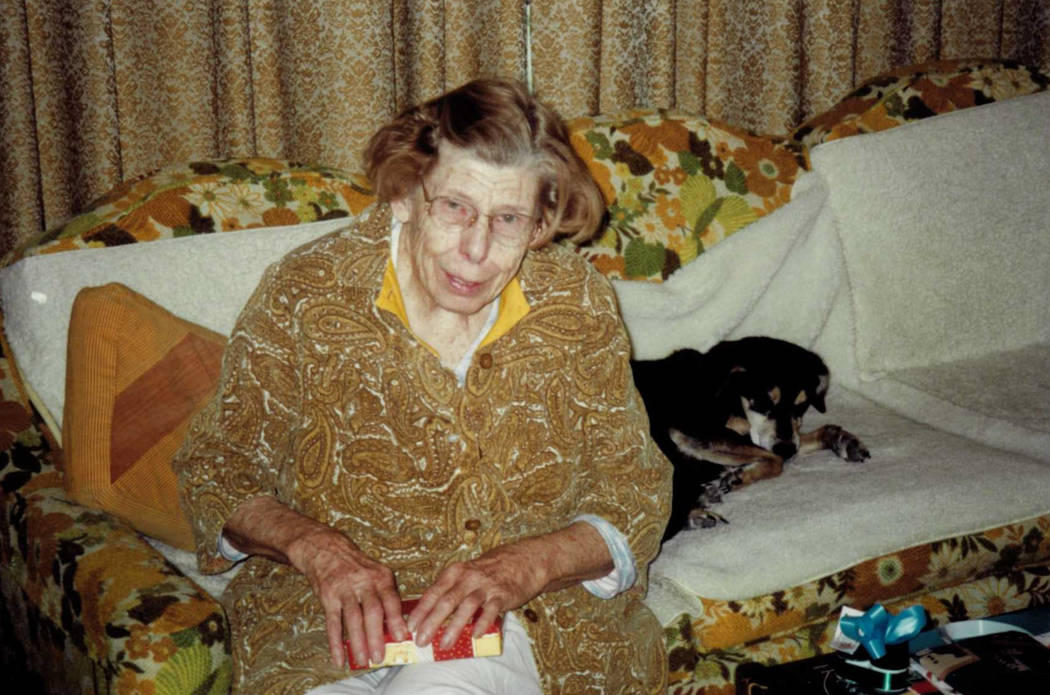 This 2000 photo shows Dorothy Sargent, who was killed in Las Vegas in 2005. Las Vegas police recently identified a suspect in her death, and her son, Keith Sargent, is offering a $10,000 award fo ...