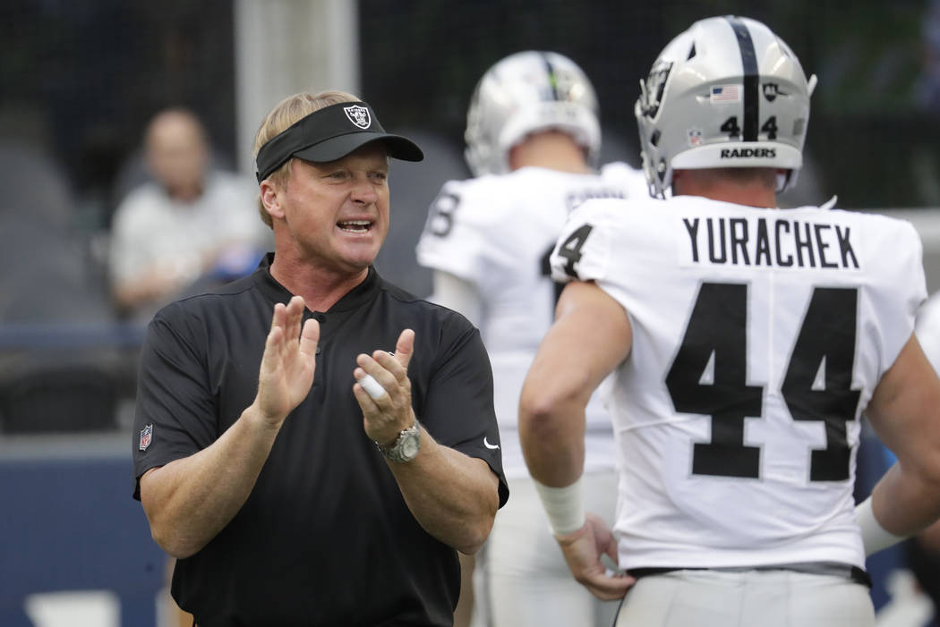 Raiders Begin Cuts To Reach 53 Player Roster Limit Las