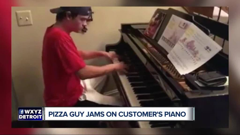 18-year-old pianist delivers pizza with a side of Beethoven