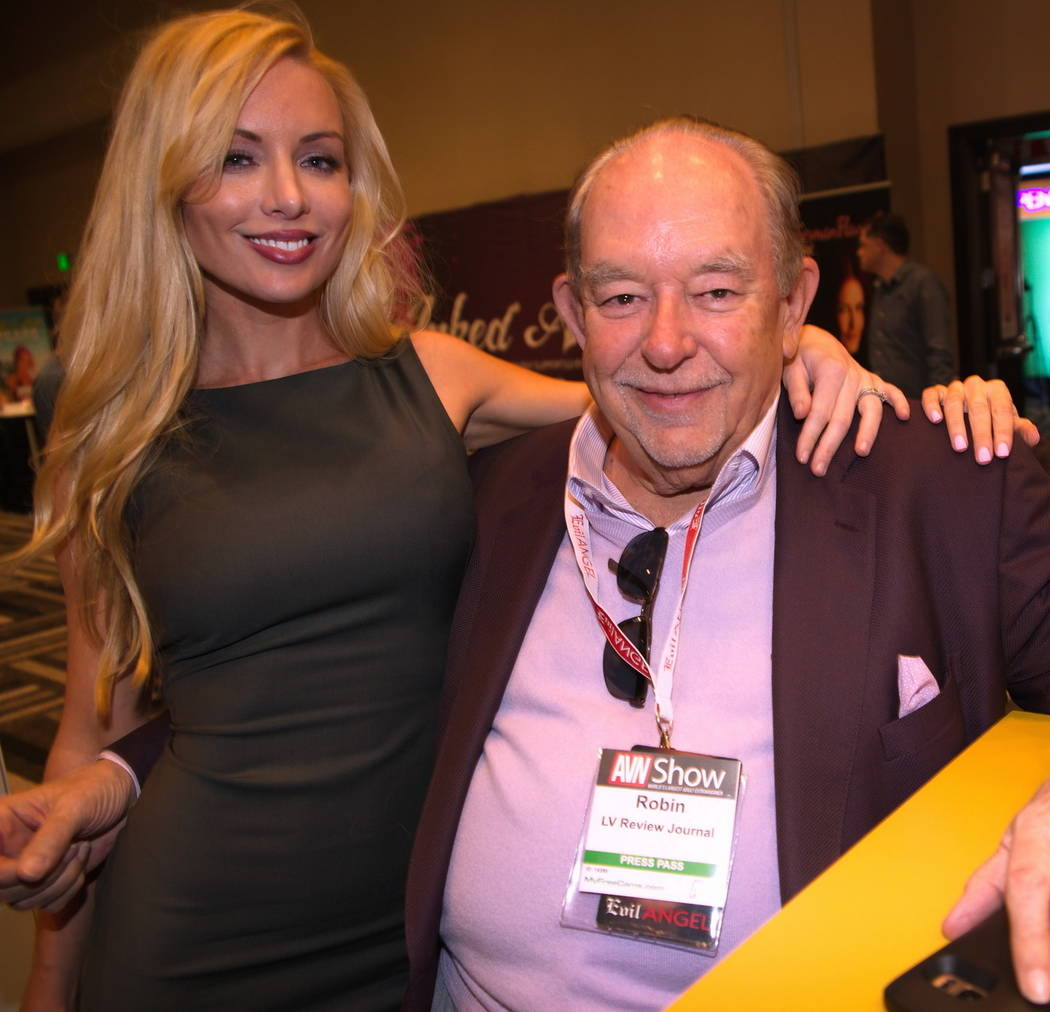 Robin Leach at The Hard Rock Hotel on Wednesday, Jan. 18, 2017, in Las Vegas. (Hew Burney)