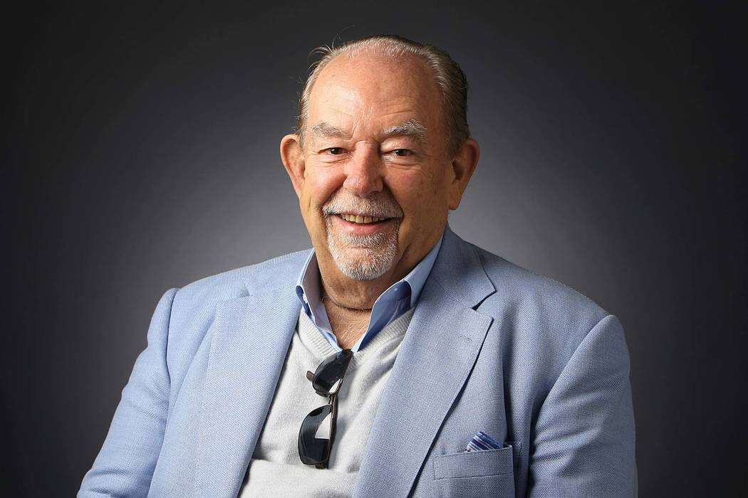 """Robin Leach, celebrity columnist and television host of """"Lifestyles of the Rich and Famous,"""" died Friday, Aug. 25, 2018. (Bizuayehu Tesfaye /Las Vegas Review-Journal)"""