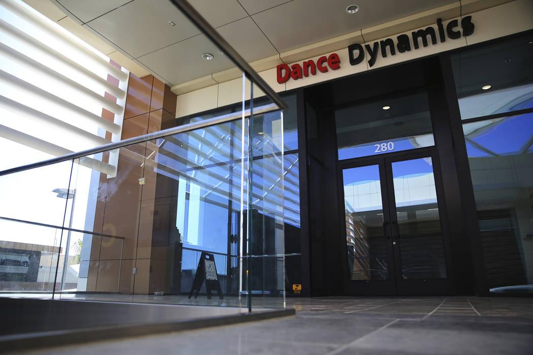 The current location for Dance Dynamics, 1875 Festival Plaza Drive #280, in Las Vegas, Tuesday, Sept. 25, 2018. Erik Verduzco Las Vegas Review-Journal @Erik_Verduzco