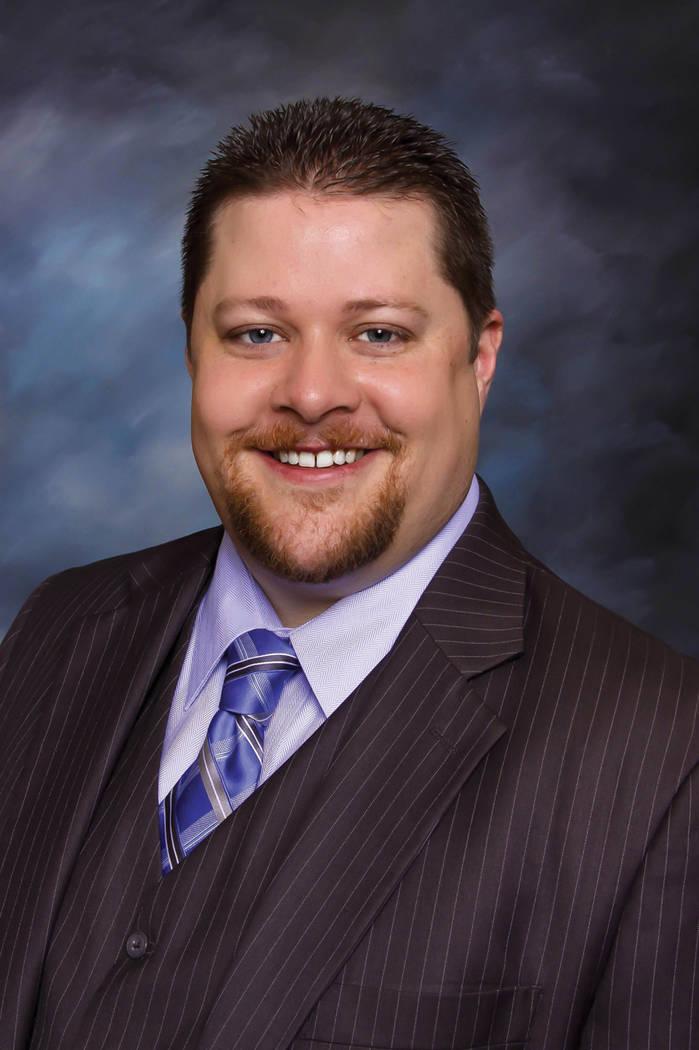 Chris Bishop, 2018 president of the Greater Las Vegas Association of Realtors