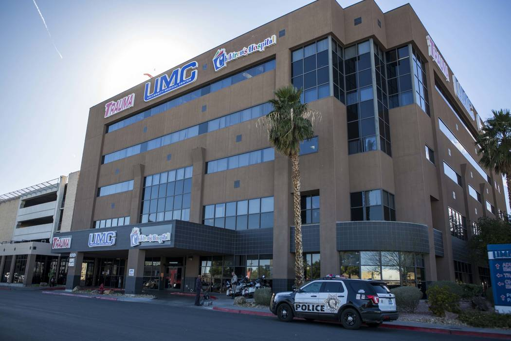 The UMC Trauma Center, Nevada's only level 1 trauma center, in Las Vegas on Thursday, Jan. 25, 2018. Patrick Connolly Las Vegas Review-Journal @PConnPie
