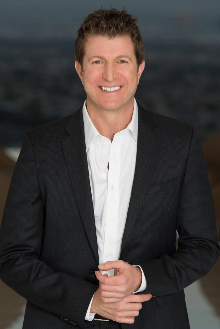 Gavin Ernstone, broker/owner of Simply Vegas