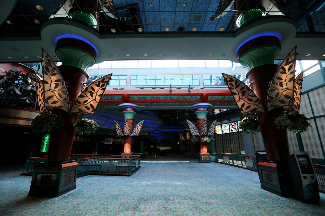 Rainmaker Casino is one seven casinos at Foxwoods Resort Casino in Mashantucket, Conn. Saturday, Aug. 25, 2018. K.M. Cannon Las Vegas Review-Journal @KMCannonPhoto